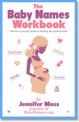 Cover of The Baby Names Workbook